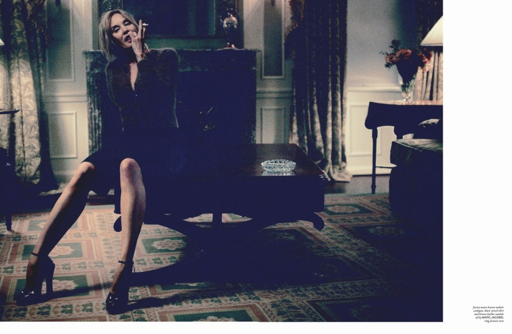Jessica Lange & Marc Jacobs by Mikael Jansson for Love 13.14 4