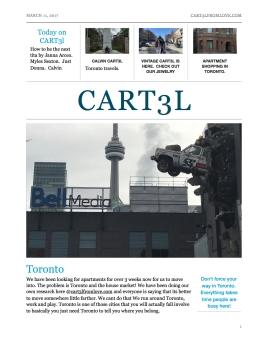 Cart3l today
